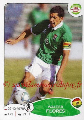 2014 - Panini Road to FIFA World Cup Brazil Stickers - N° 151 - Walter FLORES (Bolivie)