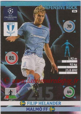 2014-15 - Adrenalyn XL champions League N° 296 - Filip HELANDER (Malmo FF) (Defensive Rock)