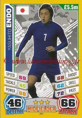 Topps Match Attax England 2014 - N° 164 - Yasuhito ENDO (Japon)