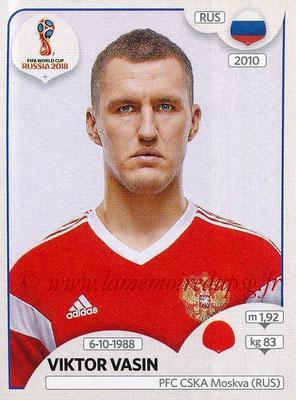 2018 - Panini FIFA World Cup Russia Stickers - N° 036 - Viktor VASIN (Russie)
