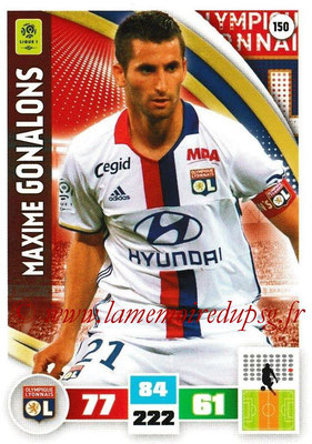 2016-17 - Panini Adrenalyn XL Ligue 1 - N° 150 - Maxime GONALONS (Lyon)