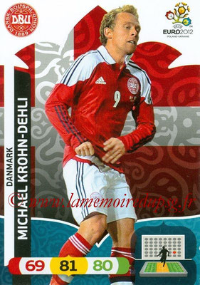 Panini Euro 2012 Cards Adrenalyn XL - N° 019 - Michael KROHN-DEHLI (Danemark)