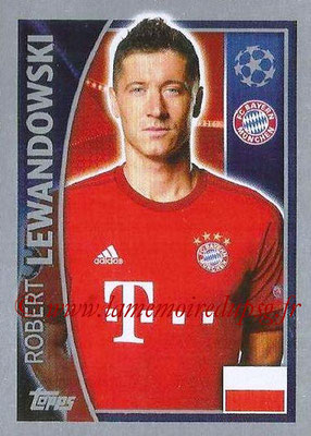 2015-16 - Topps UEFA Champions League Stickers - N° 388 - Robert LEWANDOWSKI (FC Bayern Munich)