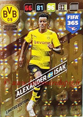 2017-18 - Panini FIFA 365 Cards - N° LE-AI - Alexander ISAK (Borussia Dortmund) (Limited Edition)