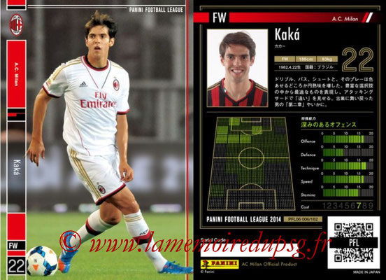 Panini Football League 2014 - PFL06 - N° 006 - KAKA (Milan AC)