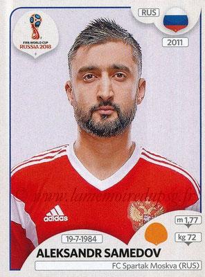 2018 - Panini FIFA World Cup Russia Stickers - N° 045 - Aleksandr SAMEDOV (Russie)