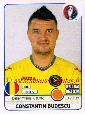 Panini Euro 2016 Stickers - N° 062 - Constantin BUDESCU (Roumanie)