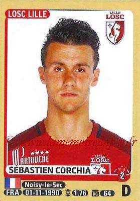 2015-16 - Panini Ligue 1 Stickers - N° 149 - Sébastien CORCHIA (Lille OSC)