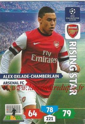 2013-14 - Adrenalyn XL champions League N° 052 - Alex OXLADE-CHAMBERLAIN (Arsenal FC) (Rising Star)