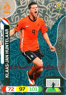 Panini Euro 2012 Cards Adrenalyn XL - N° 292 - Klaas-Jan HUNTELAAR (Pays-Bas) (Master)
