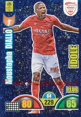 2018-19 - Panini Adrenalyn XL Ligue 1 - N° 513 - Mustapha DIALLO (Nîmes) (Idole Plus)