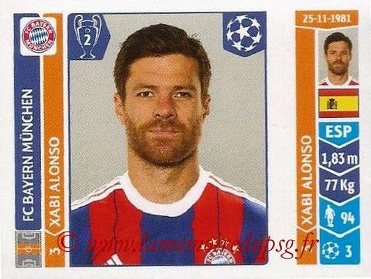 2014-15 - Panini Champions League N° 350 - Xabi ALONSO (FC Bayern Munich)