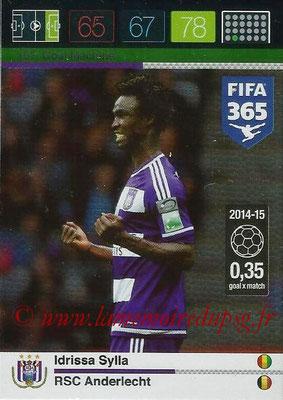 2015-16 - Panini Adrenalyn XL FIFA 365 - N° 157 - Idrissa SYLLA (RSC Anderlecht) (Goal Machine)