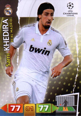 2011-12 - Panini Champions League Cards - N° 230 - Sami KHEDIRA (Real Madrid CF)