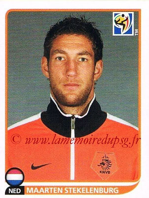2010 - Panini FIFA World Cup South Africa Stickers - N° 336 - Maarten STEKELENBURG (Pays Bas)
