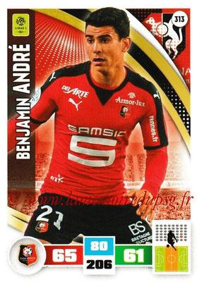 2016-17 - Panini Adrenalyn XL Ligue 1 - N° 313 - Benjamin ANDRE (Rennes)