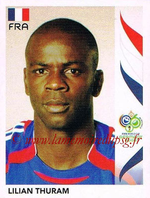 2006 - Panini FIFA World Cup Germany Stickers - N° 461 - Lilan THURAM (France)