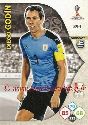 2018 - Panini FIFA World Cup Russia Adrenalyn XL - N° 344 - Diego GODIN (Uruguay)