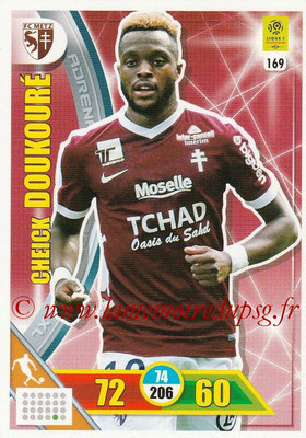 2017-18 - Panini Adrenalyn XL Ligue 1 - N° 169 - Cheick DOUKOURE (Metz)