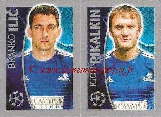 2015-16 - Topps UEFA Champions League Stickers - N° 219 - Branko ILIC + Igor  PIKALKIN (FC Astana)