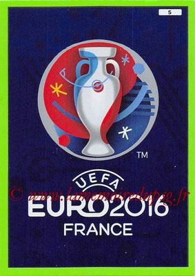 Panini Euro 2016 Cards - N° 005 - Logo UEFA Euro 2016
