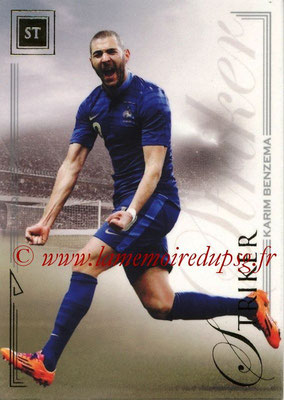 2014 - Futera World Football Unique - N° 067 - Karim BENZEMA (Striker)