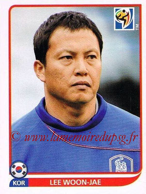 2010 - Panini FIFA World Cup South Africa Stickers - N° 146 - Lee-WOON-JAE (Corée du Sud)