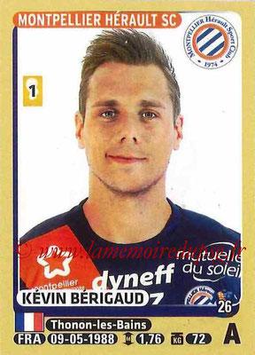 2015-16 - Panini Ligue 1 Stickers - N° 284 - Kévin BERIGAUD (Montpellier Hérault SC)