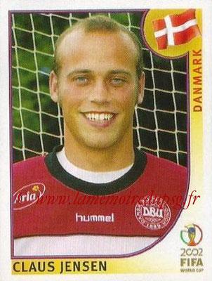 2002 - Panini FIFA World Cup Stickers - N° 089 - Claus JENSEN (Danemark)