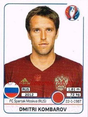 Panini Euro 2016 Stickers - N° 168 - Dmitri KOMBAROV (Russie)