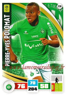 2016-17 - Panini Adrenalyn XL Ligue 1 - N° 338 - Pierre-Yves POLOMAT (Saint-Etienne)