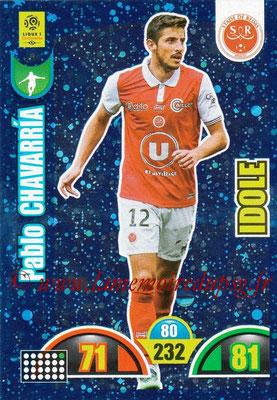 2018-19 - Panini Adrenalyn XL Ligue 1 - N° 388 - Pablo CHAVARRIA (Reims) (Idole)