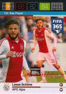 2015-16 - Panini Adrenalyn XL FIFA 365 - N° 155 - Lasse SCHÖNE (AFC Ajax) (Key Player)