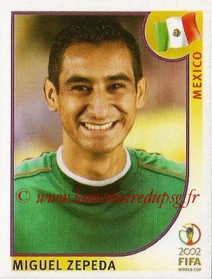 2002 - Panini FIFA World Cup Stickers - N° 507 - Miguel ZEPEDA (Mexique)
