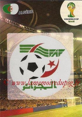 2014 - Panini FIFA World Cup Brazil Adrenalyn XL - N° 001 - Logo Algérie
