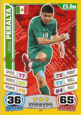 Topps Match Attax England 2014 - N° 168 - Oribe PERALTA (Mexique)