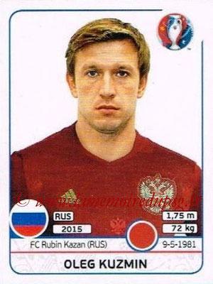 Panini Euro 2016 Stickers - N° 166 - Oleg KUZMIN (Russie)