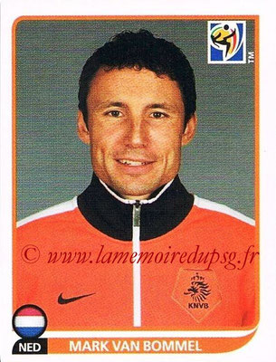 2010 - Panini FIFA World Cup South Africa Stickers - N° 342 - Mark VAN BOMMEL (Pays Bas)