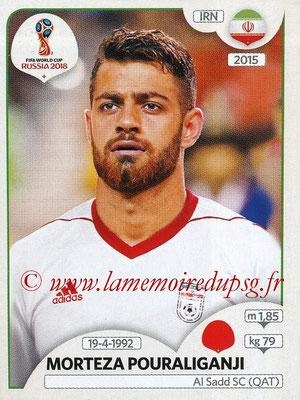 2018 - Panini FIFA World Cup Russia Stickers - N° 179 - Morteza POURALIGANJI (Iran)