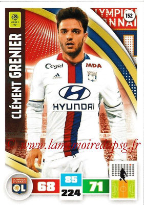 2016-17 - Panini Adrenalyn XL Ligue 1 - N° 152 - Anthony LOPES (Lyon)