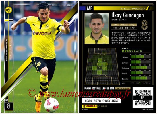 Panini Football League 2013 - PFL03 - N° 102 - Ilkay Gundogan (Borussia Dortmund)