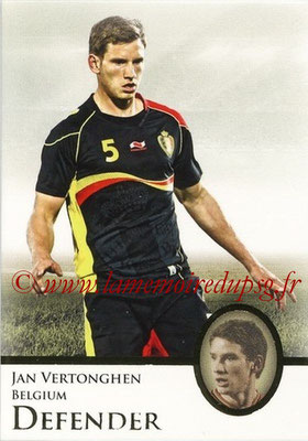 2013 - Futera World Football Unique - N° 031 - Jan VERTONGHEN (Belgique) (Defender)