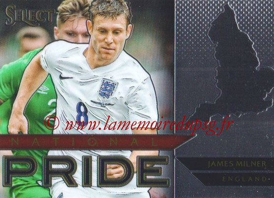 2015 - Panini Select Soccer - N° NP15 - James MILNER (Angleterre) (National Pride)