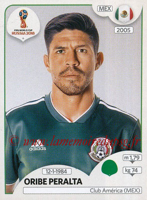2018 - Panini FIFA World Cup Russia Stickers - N° 471 - Oribe PERALTA (Mexique)