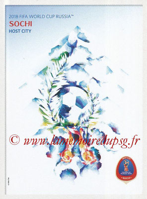 2018 - Panini FIFA World Cup Russia Stickers - N° 024 - Sochi