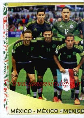Panini Copa America Centenario USA 2016 Stickers - N° 207 - Equipe Mexique 1