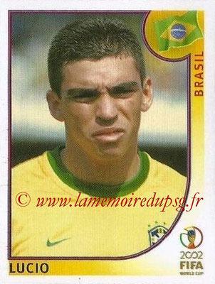 2002 - Panini FIFA World Cup Stickers - N° 175 - LUCIO (Brésil)