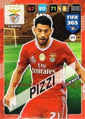 2017-18 - Panini FIFA 365 Cards - N° 311 - PIZZI (SL Benfica)