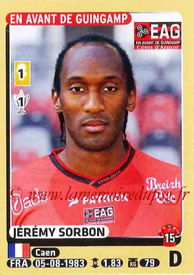 2015-16 - Panini Ligue 1 Stickers - N° 132 - Jérémy SORBON (EA Guingamp)