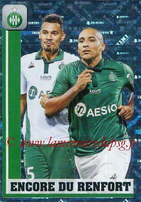 2018-19 - Panini Ligue 1 Stickers - N° 450 - Encore du Renfort (Saint-Etienne)